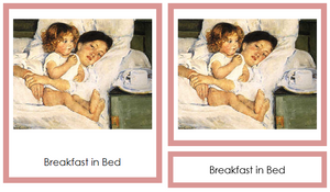 Mary Cassatt Art Cards - montessori art cards
