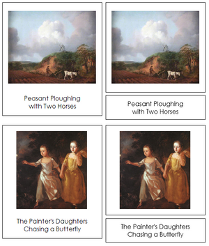 Thomas Gainsborough Art Cards - Montessori Print Shop