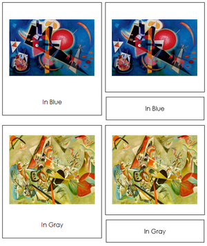 Wassily Kandinsky Art Cards - Montessori Print Shop