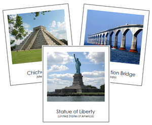 North American Landmarks - Montessori Print Shop