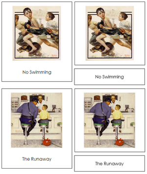 Norman Rockwell Art Cards - Montessori Print Shop