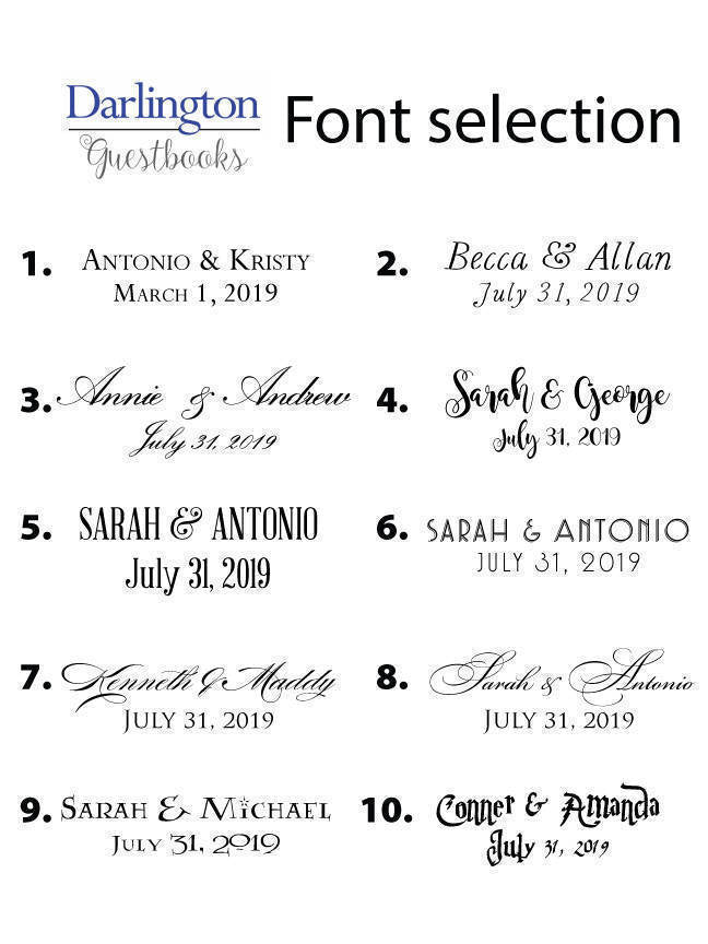 santa barbara club guestbook print guest book bridal shower wedding custom