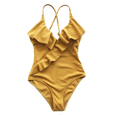 """Boheme"" Criss-Cross Swimsuit"