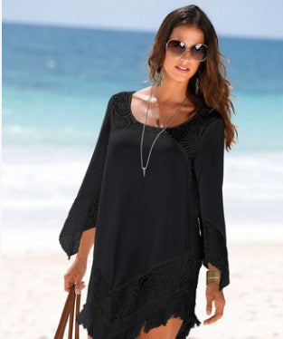 Pareo Beach To Swimsuit Coverup Beachwear Saida De Long Bathing Suit Cover Ups For Women 2018 Skirt Female Drying Polyester Lace