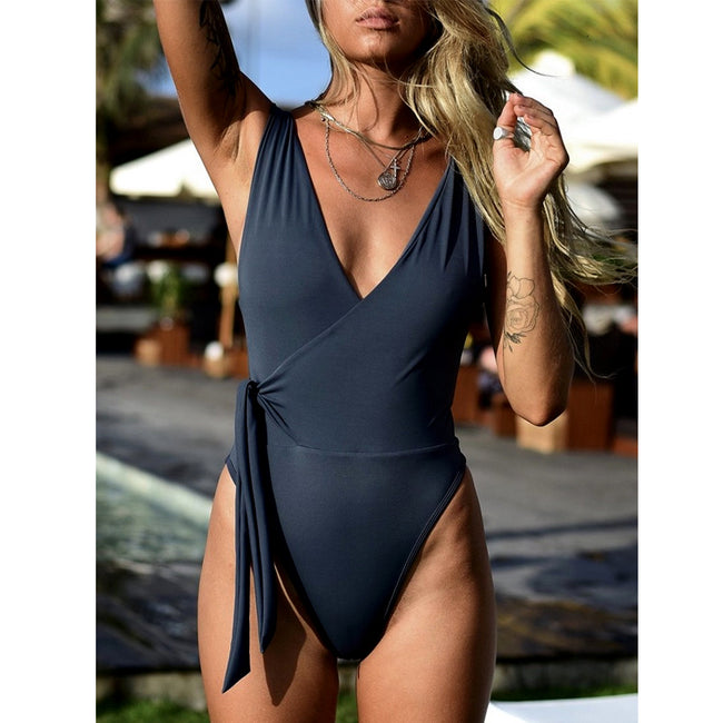 """Seabrooke"" Knot One Piece"