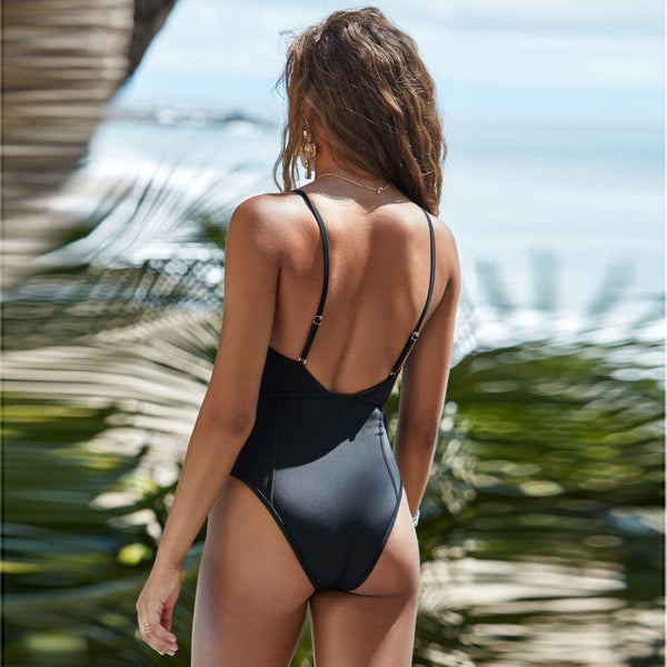 Women's Swimming Suit Swimsuit Bather Women One Piece Swimsuit Push-Up Padded Bra Print Bathing Swimwear Jumpsuit 2018