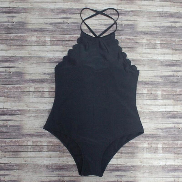 """Lovey"" Scalloped One Piece"