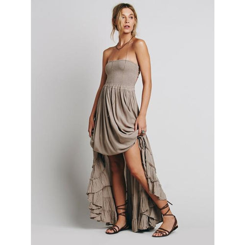 """Bello""  Boho Maxi Dress"
