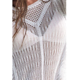 Sexy Hollow Out Knitted Cover Up