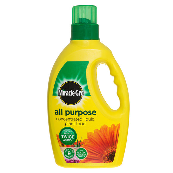Miracle-Gro All purpose plant food Liquid