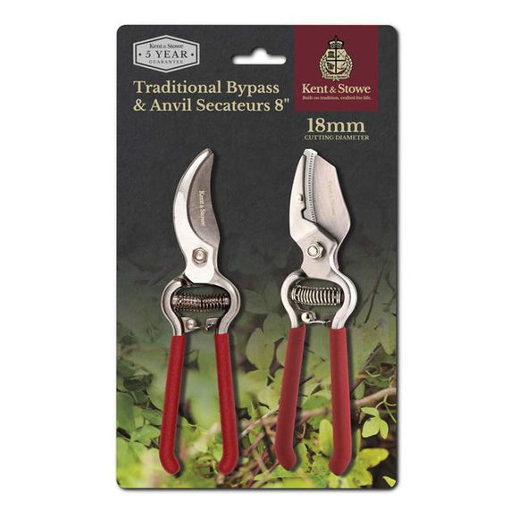 Traditional Secateurs Set