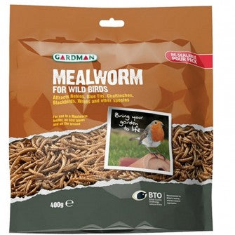 Mealworm Pouch 400g