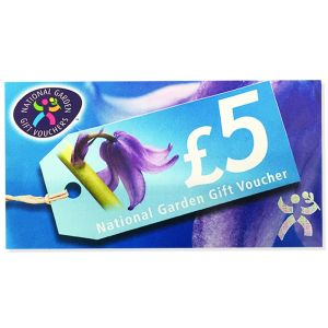 HTA National Garden Centre Gift Voucher £5