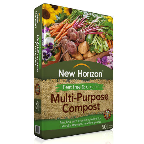 New Horizon Peat Free Multi-Purpose Compost 50L