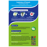 Westland Sulphate of Potash Fruit & Flower Feed 1.5kg