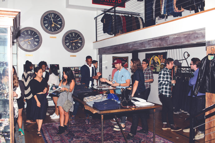 BY WAY OF BROOKLYN Issue 001 Launch - Self Edge LA
