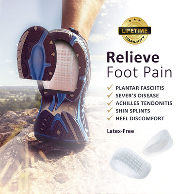 Tuli's® Heavy Duty Gel Heel Cups™