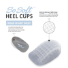 Tuli's So Soft Heel Cups Multi-Cell, Multi-Layer Design