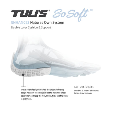 Tuli's® So Soft® Heavy Duty Heel Cups