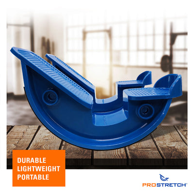 ProStretch Double The Original Calf and Foot Stretcher is lightweight, durable, and portable