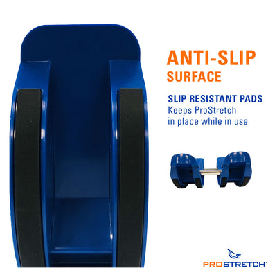 ProStretch Double The Original Calf and Foot Stretcher has an anti slip surface