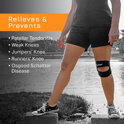 Cho-Pat Dual Action Relieves and Prevents patellar Tendonitis and weak knees conditions