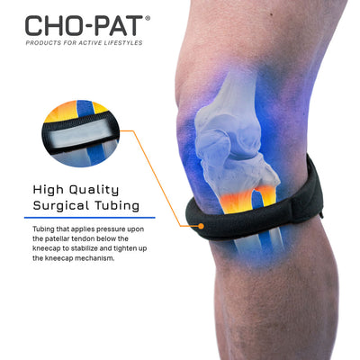 Cho-pat Original Knee Strap High Quality Surgical Tubing