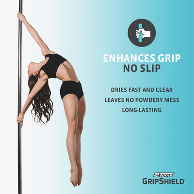 2Toms GripShield enhnaces grip for pole fitness