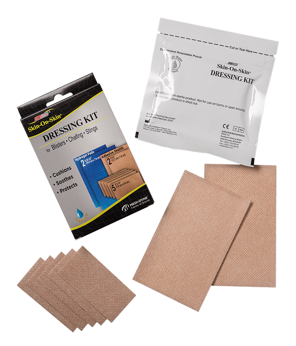2Toms® Skin-on-Skin® Dressing Kit For Blister Treatment