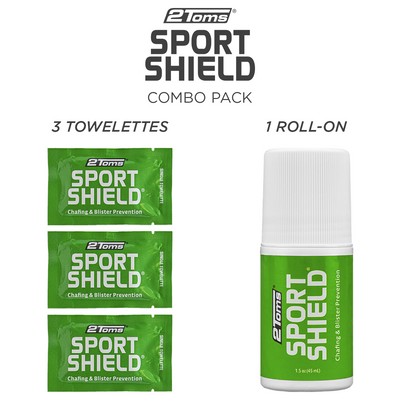 2Toms SportShield Combo Pack