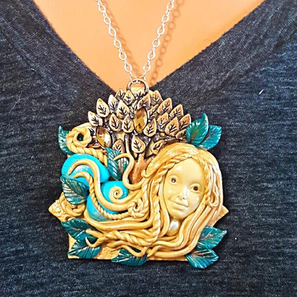 "Tree Nymph ""Dryad"" Talisman Necklace"