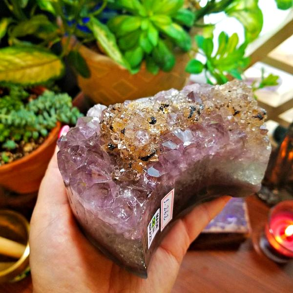 Small Amethyst Heart