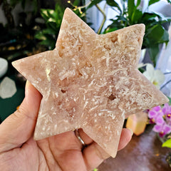 Pink Amethyst Six Point Star #3