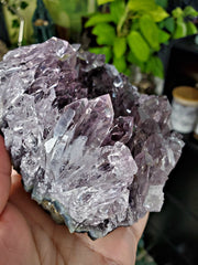 Rare Smoky Amethyst Needle Point Cluster #1 from Uruguay