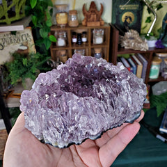 Skeletal Amethyst Elestial Point