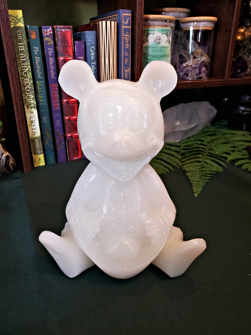 XXL White Jade Mickey Mouse