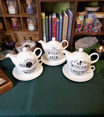 Witchy Tea Set