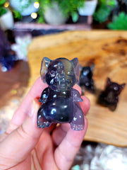 Cutest Fluorite Elephant