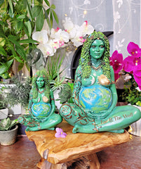 Mother Earth Gaia Statue Figurine - Small 17.5cm