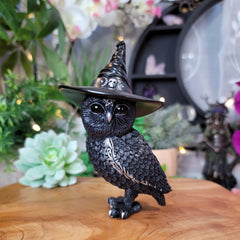 Owlocen 13.5cm Witches Hat Occult Owl