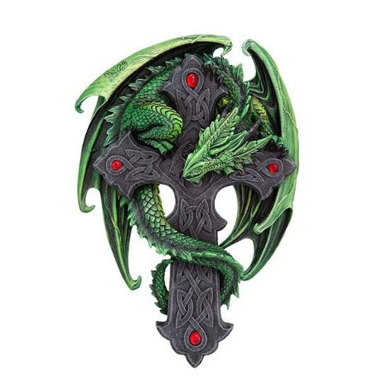 Woodland Dragon Guardian Wall Plaque