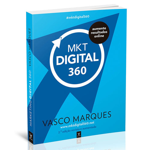 Livro Marketing Digital 360 de Vasco Marques