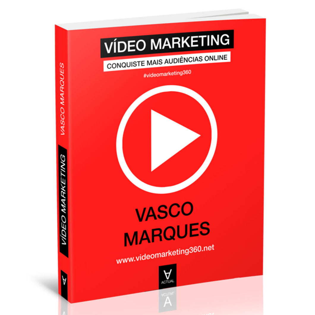 Livro Vídeo Marketing de Vasco Marques