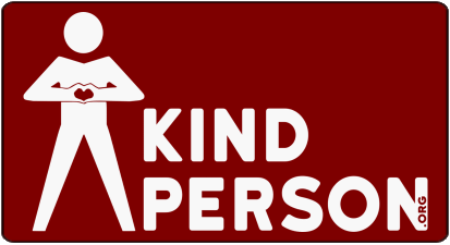KindPerson.org Stickers