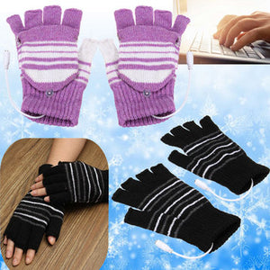 5V USB Powered Hand Warmer Gloves