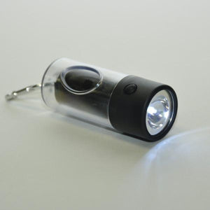 Dog Waste Bag Dispenser Flashlight - Poop Lights
