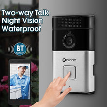 Wireless Bluetooth and WIFI Smart Home HD Video DoorBell Camera