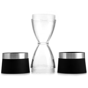 2 in 1 Hourglass Shape Salt and Pepper Mill