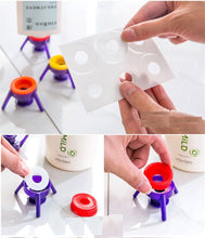 Easy Stand and Pour Replacement Lids for Bottles - 6pcs