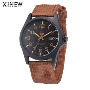 Military Style Men's Watch